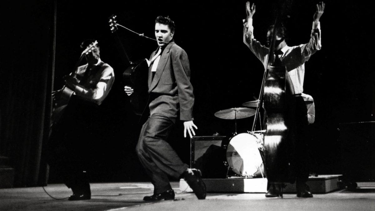 Elvis am 17. März 1956 in der Dorsey Brothers Stage Show
