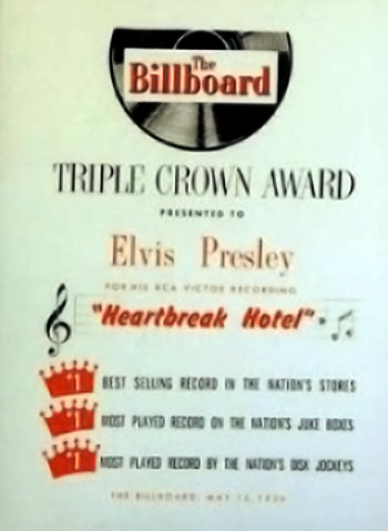Elvis Triple Crown Award