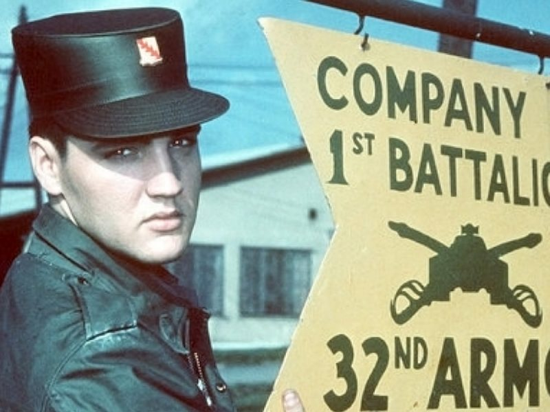 Elvis in der U.S. Army 1958 bis 1960