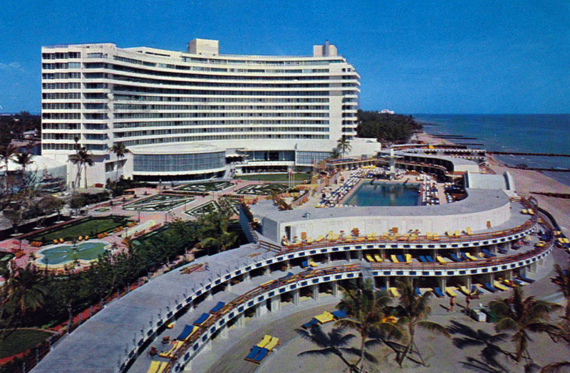 Fontainebleau Hotel 1960