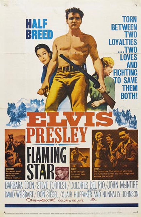 Filmplakat Flaming Star 1960