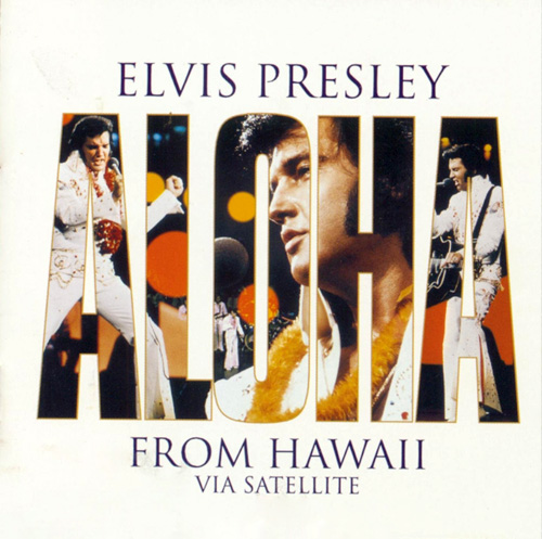 Cover: Aloha From Hawaii Elvis Album