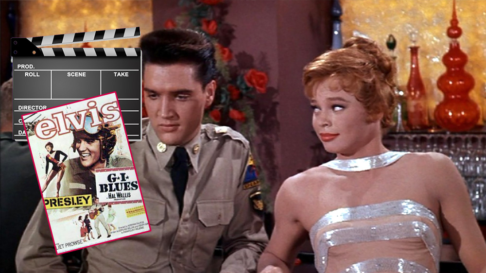 Elvis mit Juliet Prowse in G.I. Blues