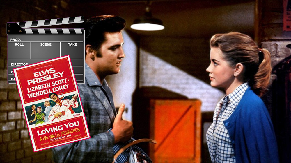 Elvis und Dolores Hart in Loving You