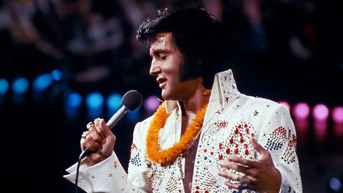 "Elvis On Stage ""Aloha From Hawaii"" - 14. Januar 1973"