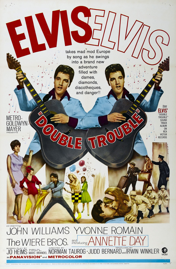 Filmplakat Double Trouble 1967