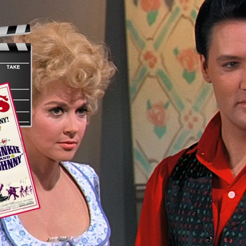 Donna Douglas und Elvis in Frankie And Johnny