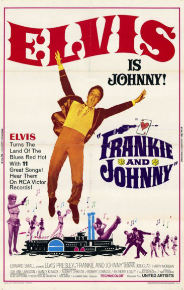 Filmplakat Frankie And Johnny 1966