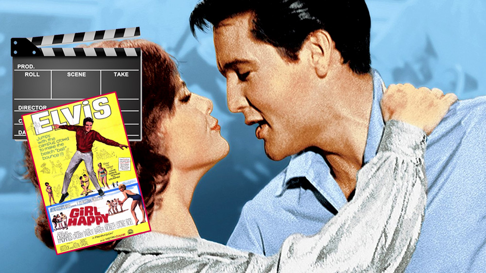 Shelley Fabares und Elvis in Girl Happy
