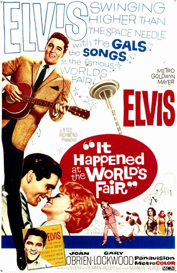 Filmplakat It Happened At The World's Fair 1963