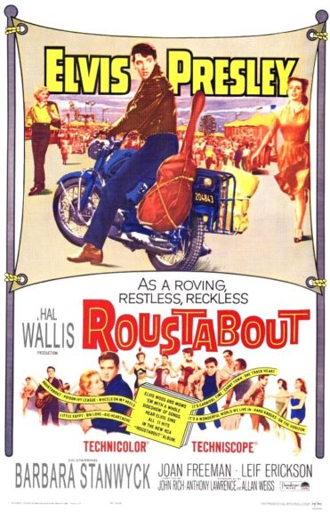 Filmplakat Roustabout 1964