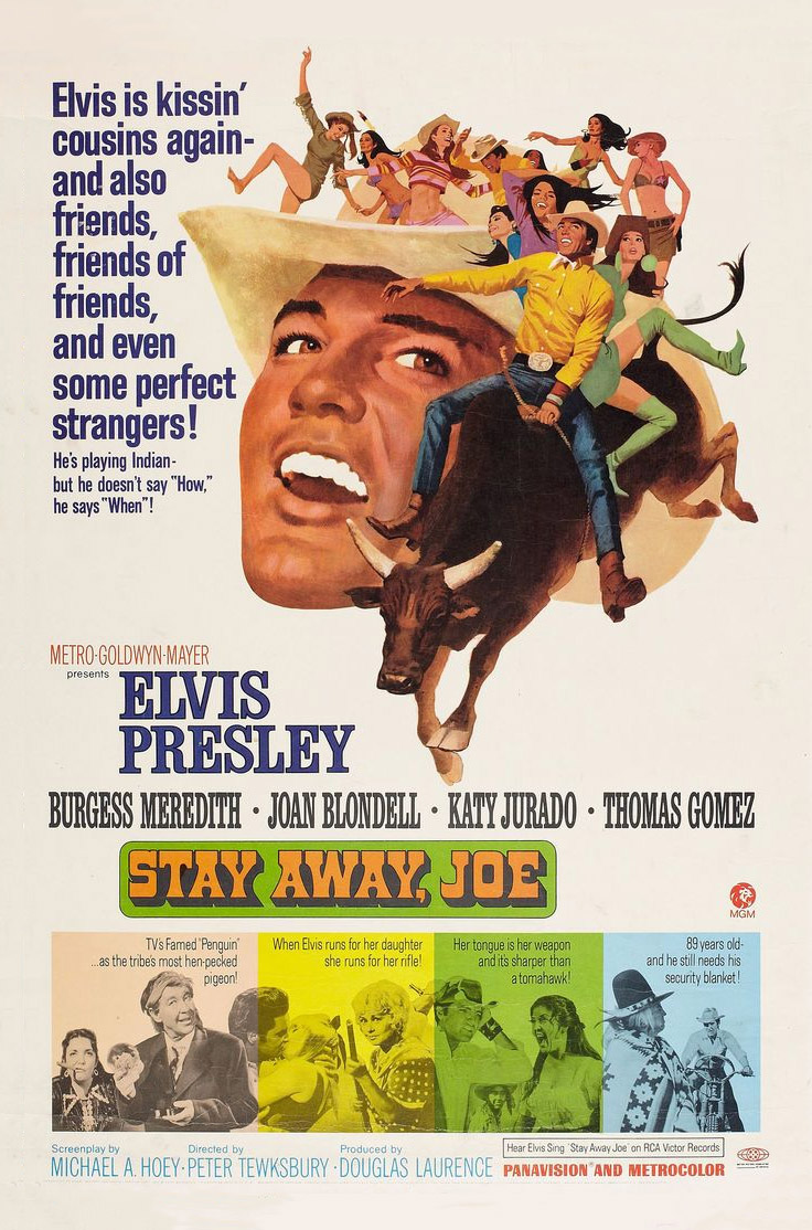 Filmplakat Stay Away, Joe 1968