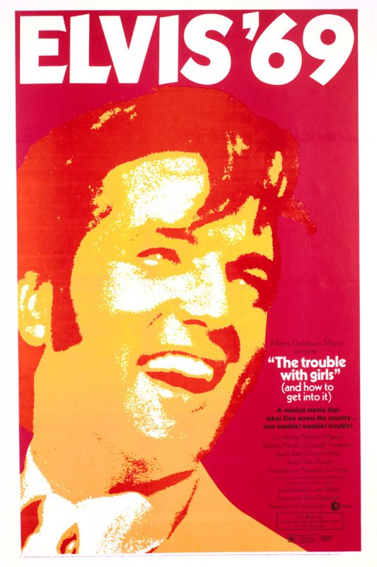 Filmplakat The Trouble With Girls 1969
