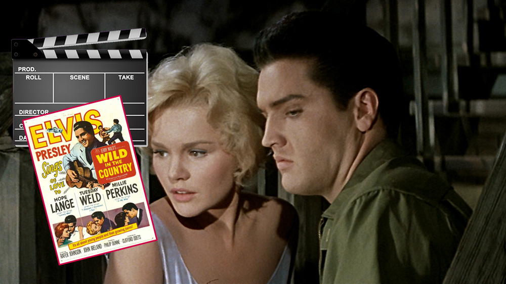 Tuesday Weld und Elvis in Wild In The Country