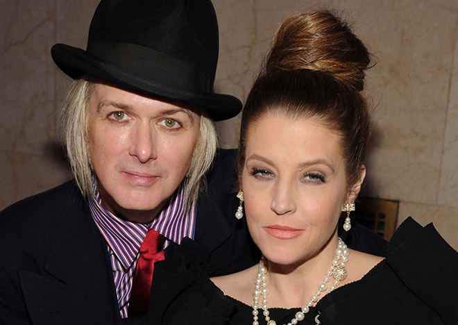 Michael Lockwood mit Lisa Marie Presley