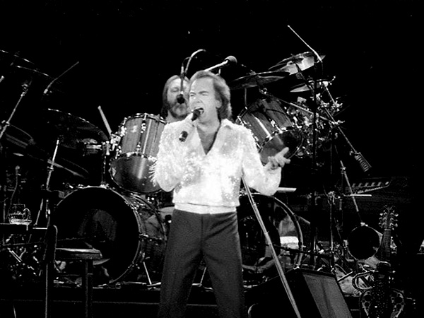 Ron Tutt mit Neil Diamond