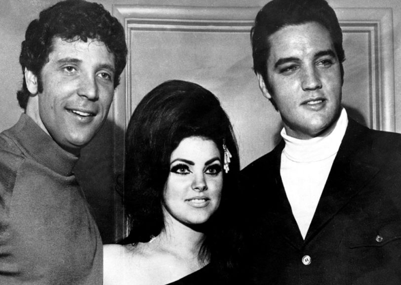 Tom Jones, Priscilla und Elvis Presley: Flamingo Hotel, Las Vegas - 06. April 1968