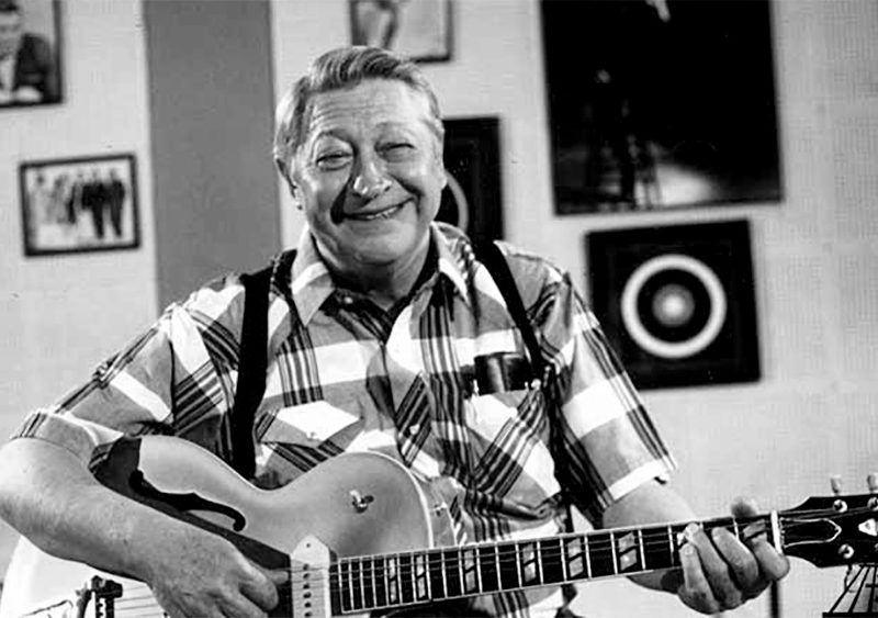 Scotty Moore legendary Guitar Player
