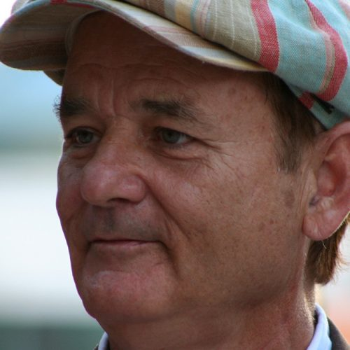 Bill Murray bei Elvis Beerdigung