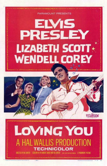 Filmcover Loving You 1957