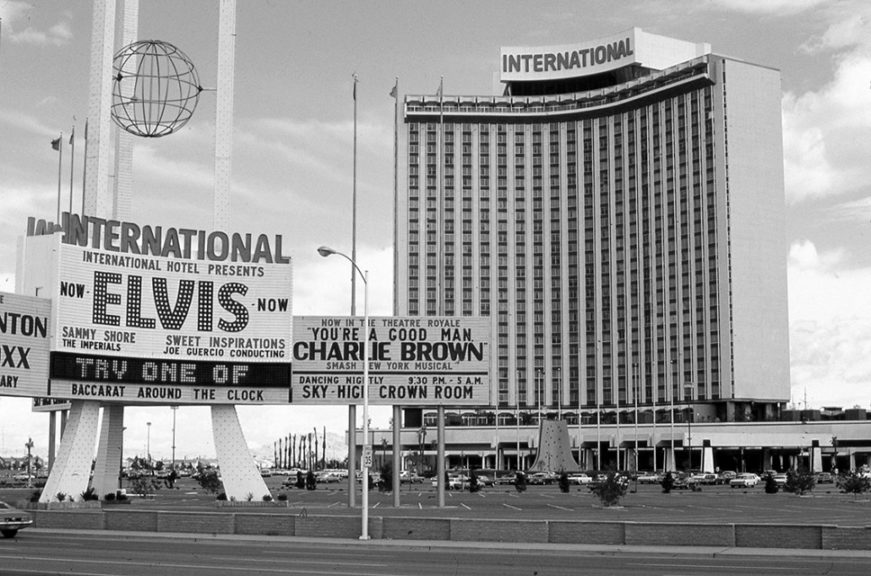 International Hotel, Las Vegas, Februar 1971