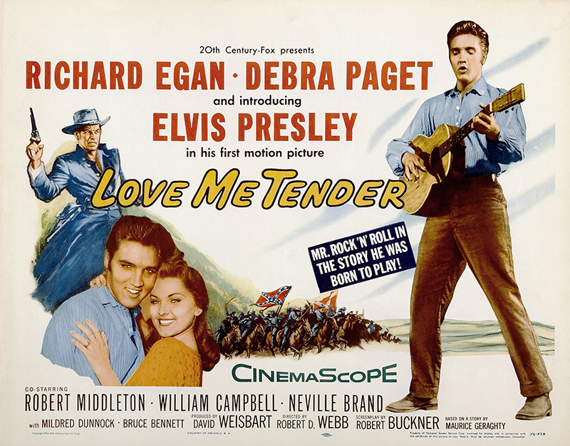 Love Me Tender Plakat