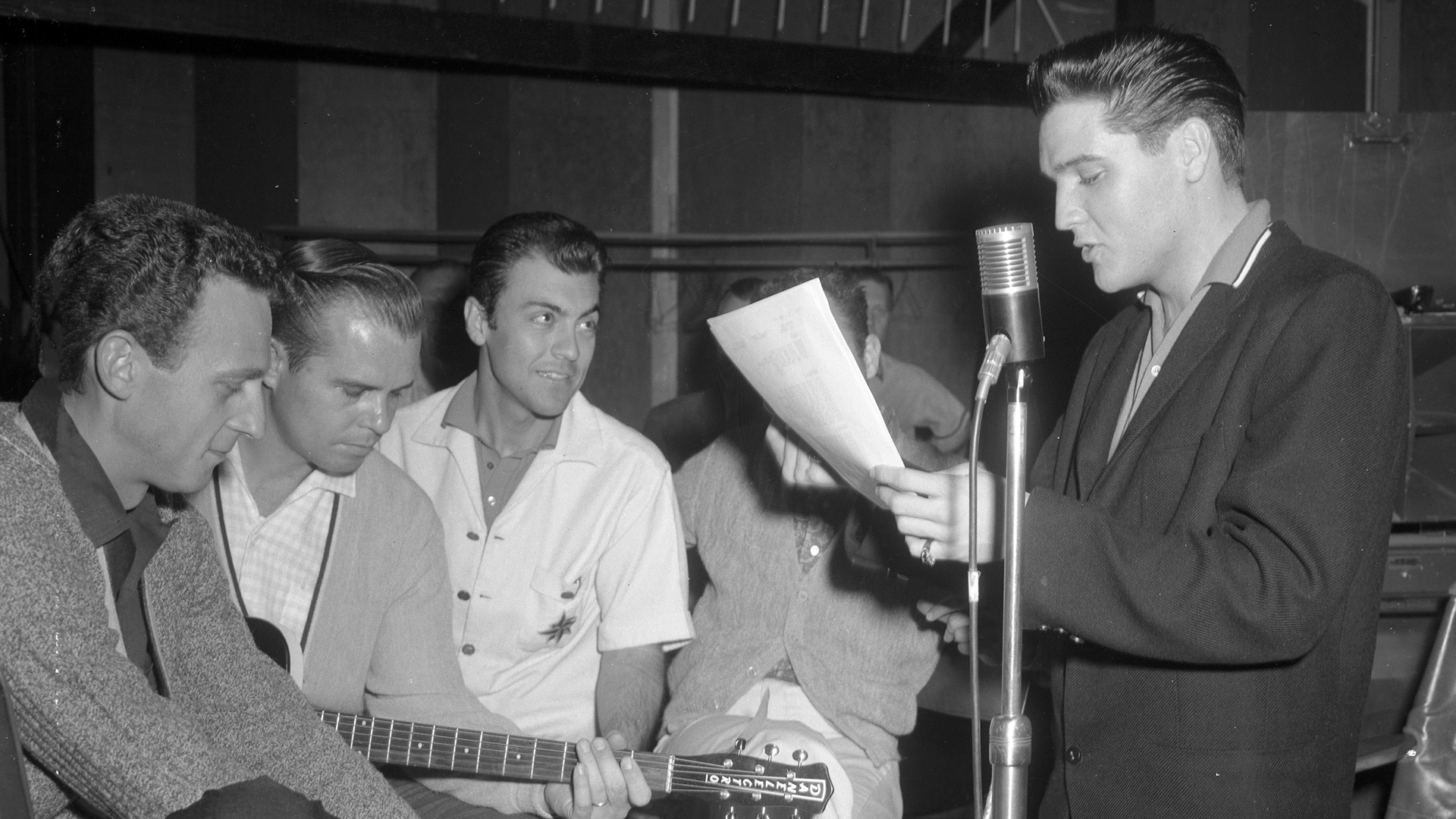 27. April 1960: G.I. Blues Session im RCA Studio A, Los Angeles mit den Jordanaires