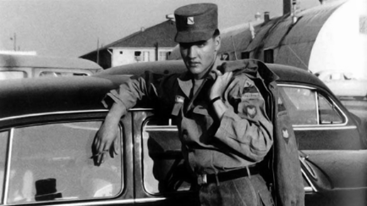 Elvis in den Ray Barracks 1959