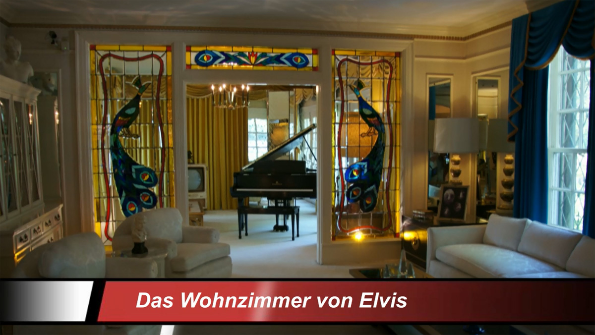 Video: Graceland - Home Of Elvis Presley