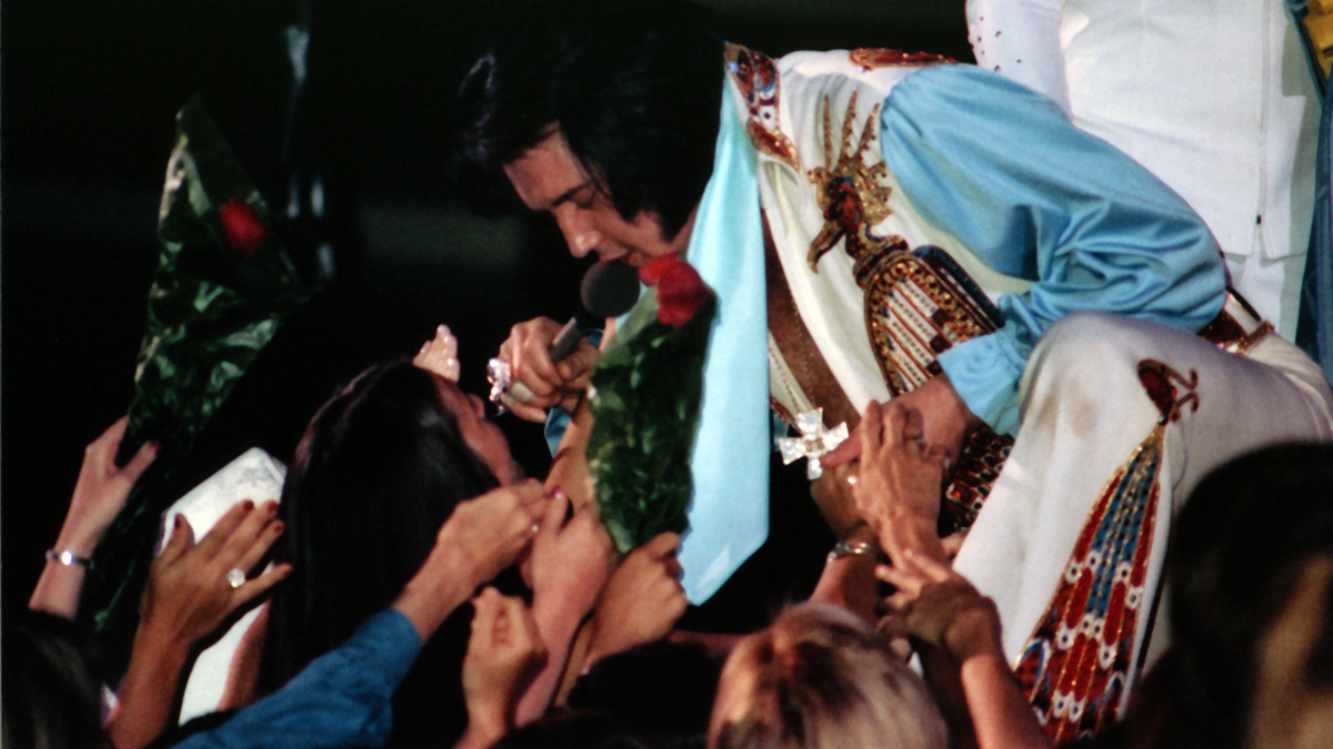 Elvis On Stage 1976
